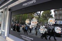 Printemps stores Stock Image