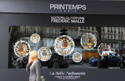 Printemps stores in Paris Stock Images