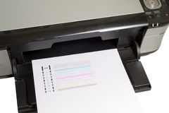 Printer Royalty Free Stock Photography