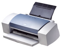 Printer Stock Image