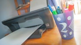 printer royalty-vrije stock afbeeldingen