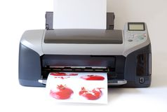 Printer Royalty Free Stock Photos