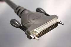 Printer Cable Stock Image