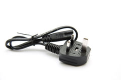 Printer cable with adaptor Royalty Free Stock Photography