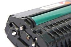 Printer cartgidge. Laser printer cartridge. Isolated on white stock image