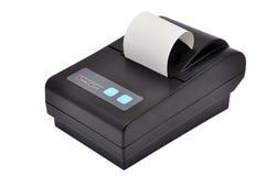 Printer and check Stock Image