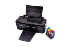 Printer and ciss Stock Photo