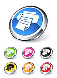 Printer icon Stock Image