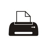 Printer icon Royalty Free Stock Photography