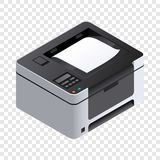 Printer icon, isometric style vector illustration