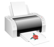 Printer Royalty Free Stock Photo