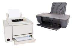 Printer. Image of a professional printing machine stock photo