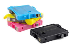 Printer ink cartridges Stock Photo