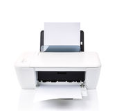 Printer isolated Royalty Free Stock Images