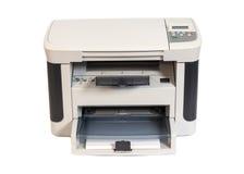 Printer. Isolated on white background stock photos
