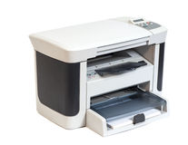 Printer isolated Stock Image