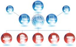 Printer Network Stock Photography