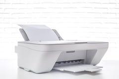 Printer, office interior Royalty Free Stock Photos