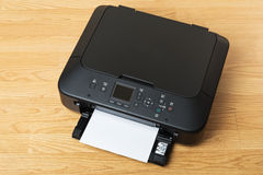 Printer and paper Royalty Free Stock Images