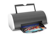 Printer Print of Photos Stock Photography