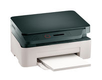 Printer scaner Stock Photo