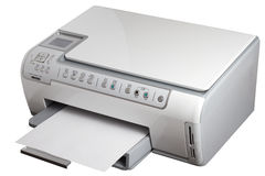Printer Scanner Copier Royalty Free Stock Photo