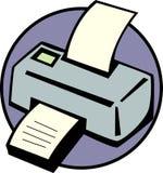Printer vector illustration Stock Images
