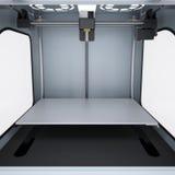 Printer voor de productie van 3d stevige modellen Stock Foto's