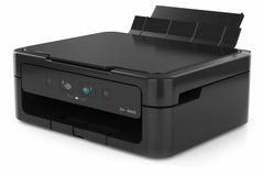 Printer  on white background Royalty Free Stock Image