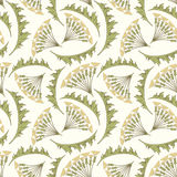 Printfloral pattern in modern Stock Photography