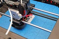 Printhead av skrivaren 3D Fotografering för Bildbyråer