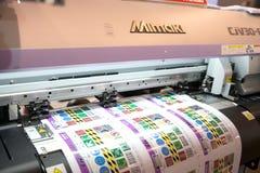 printing Royaltyfri Bild