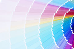 Printing color scale Royalty Free Stock Photography