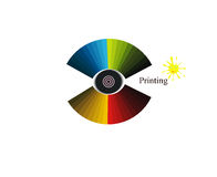 Printing colors Royalty Free Stock Photo