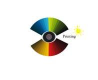 Printing_colors illustration de vecteur