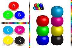 Printing colour Stock Photo