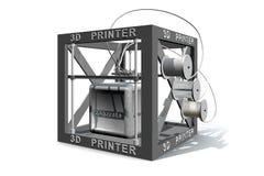 Printing concrete Stock Image