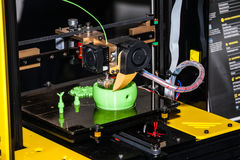 Printing 3d printer Royalty Free Stock Photography