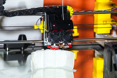 Printing 3d printer Stock Photography