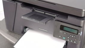 Printing documents on laser printer
