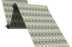 Printing dollars Stock Images