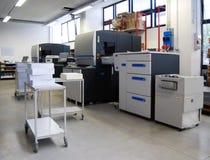 printing för press för fyra förskjutning för färg digital royaltyfri foto
