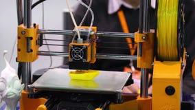 printing för skrivare 3d stock video
