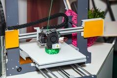 printing för skrivare 3d Arkivbild