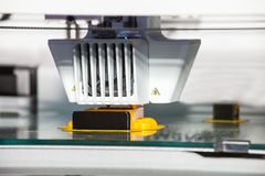 printing för skrivare 3d Arkivfoto
