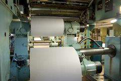 Printing house stock photo
