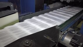 Printing house stock footage
