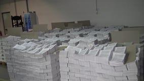 Printing house stock footage