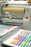 Printing machine. Photo of a Printing machine stock image