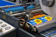 Printing machine Stock Photos